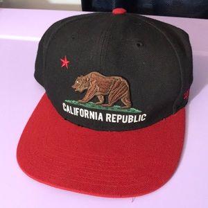 3/$20 47 California Republic Hat